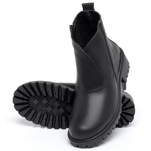 Laranja_Lima_Shoes_Sapatos_Femininos_Bota_Cano_Curto_em_Couro_Preto_-_Codigo_-_137238_2