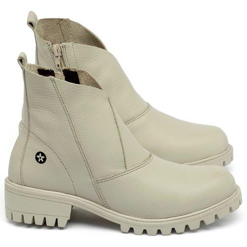 Laranja_Lima_Shoes_Sapatos_Femininos_Bota_Cano_Curto_em_Couro_Off-White_-_Codigo_-_137238_1