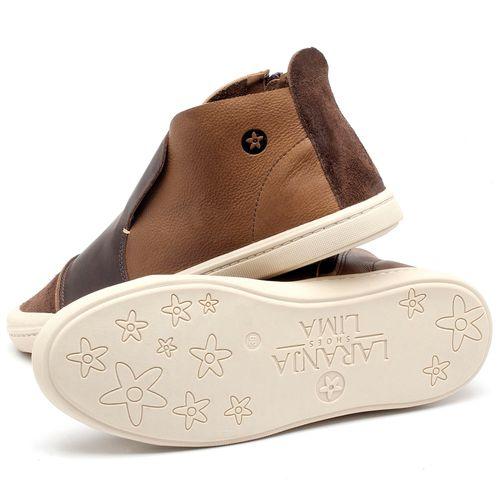 Laranja_Lima_Shoes_Sapatos_Masculinos_Tenis_Masculino_Cano_Alto_em_Couro_Marrom_-_Codigo_-_141086_3