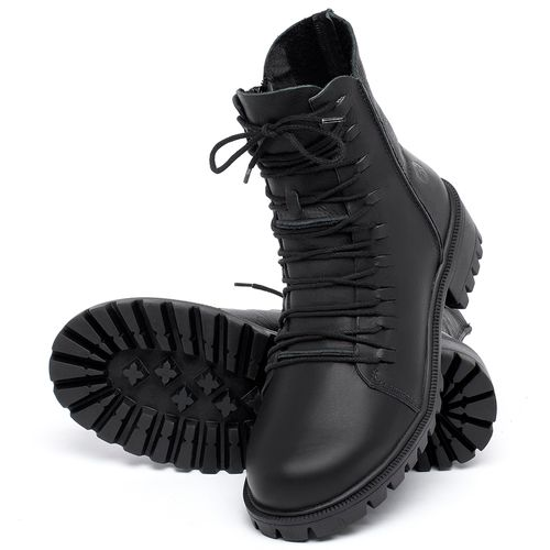Laranja_Lima_Shoes_Sapatos_Femininos_Bota_Cano_Curto_Salto_de_4_cm_em_Couro_Preto_-_Codigo_-_137246_2