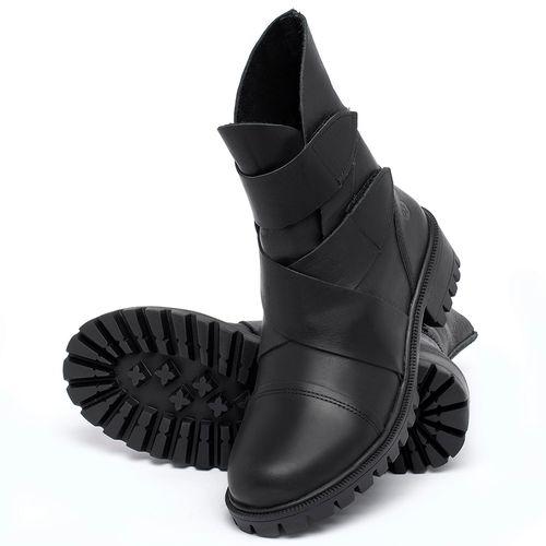 Laranja_Lima_Shoes_Sapatos_Femininos_Bota_Cano_Curto_em_Couro_Preto_-_Codigo_-_137235_2