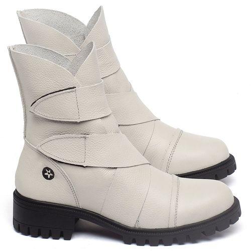 Laranja_Lima_Shoes_Sapatos_Femininos_Bota_Cano_Curto_em_Couro_Off-White_-_Codigo_-_137235_1