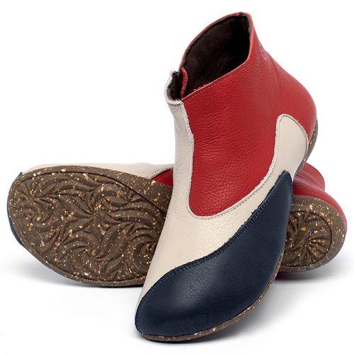 Laranja_Lima_Shoes_Sapatos_Femininos_Flat_Boot_em_Couro_Multicolor_-_Codigo_-_148037_2