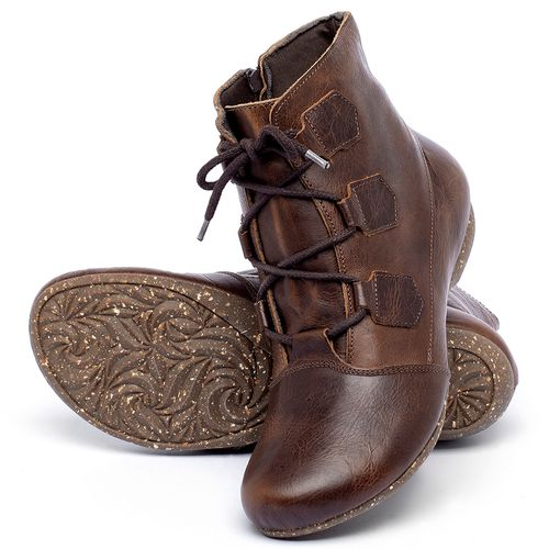 Laranja_Lima_Shoes_Sapatos_Femininos_Flat_Boot_em_Couro_Marrom_-_Codigo_-_148040_2