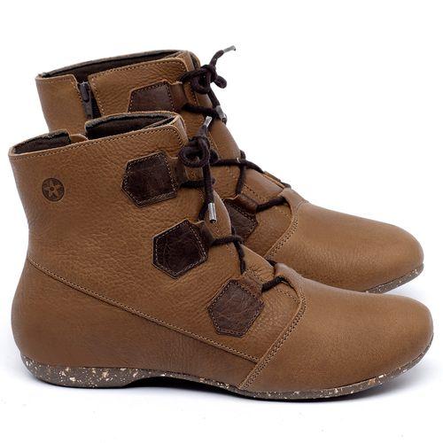 Laranja_Lima_Shoes_Sapatos_Femininos_Flat_Boot_em_Couro_Caramelo_-_Codigo_-_148040_1
