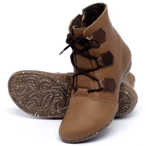 Laranja_Lima_Shoes_Sapatos_Femininos_Flat_Boot_em_Couro_Caramelo_-_Codigo_-_148040_2