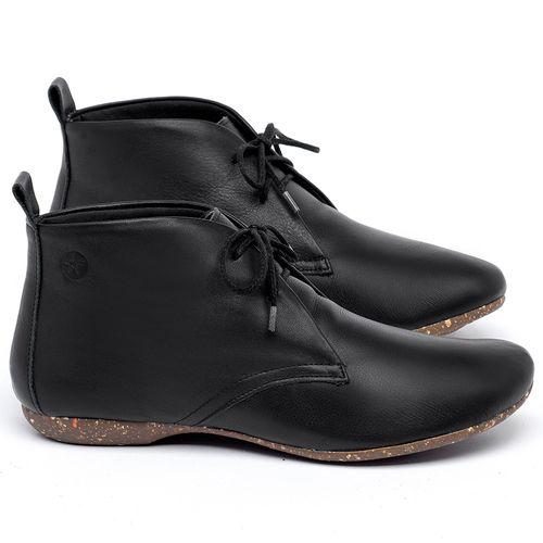 Laranja_Lima_Shoes_Sapatos_Femininos_Flat_Boot_em_Couro_Preto_-_Codigo_-_148039_1