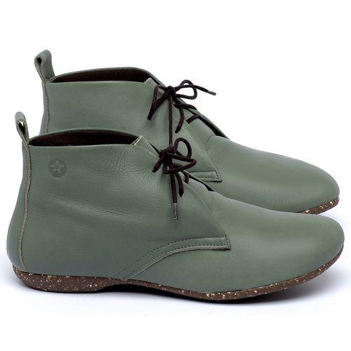 Laranja_Lima_Shoes_Sapatos_Femininos_Flat_Boot_em_Couro_Verde_-_Codigo_-_148039_1