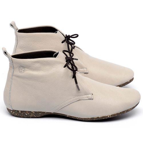 Laranja_Lima_Shoes_Sapatos_Femininos_Flat_Boot_em_Couro_Off-White_-_Codigo_-_148039_1