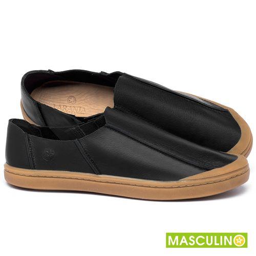 Laranja_Lima_Shoes_Sapatos_Masculinos_Tenis_Masculino_Cano_Baixo_em_Couro_Preto_-_Codigo_-_141175_1