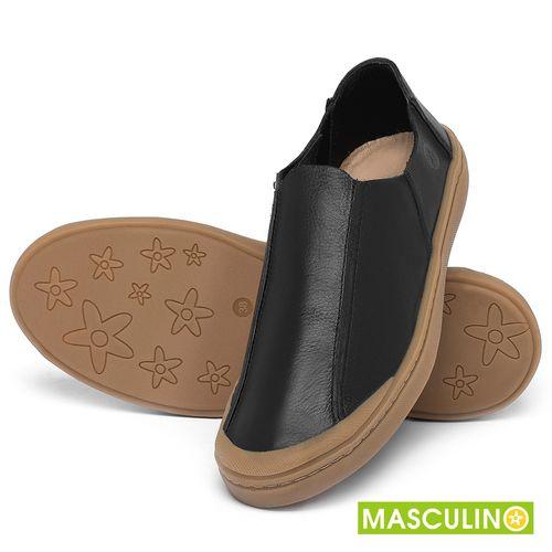 Laranja_Lima_Shoes_Sapatos_Masculinos_Tenis_Masculino_Cano_Baixo_em_Couro_Preto_-_Codigo_-_141175_2