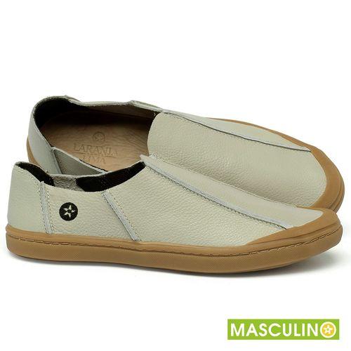 Laranja_Lima_Shoes_Sapatos_Masculinos_Tenis_Masculino_Cano_Baixo_em_Couro_Off-White_-_Codigo_-_141175_1