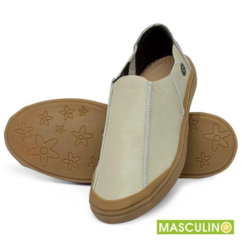 Laranja_Lima_Shoes_Sapatos_Masculinos_Tenis_Masculino_Cano_Baixo_em_Couro_Off-White_-_Codigo_-_141175_2