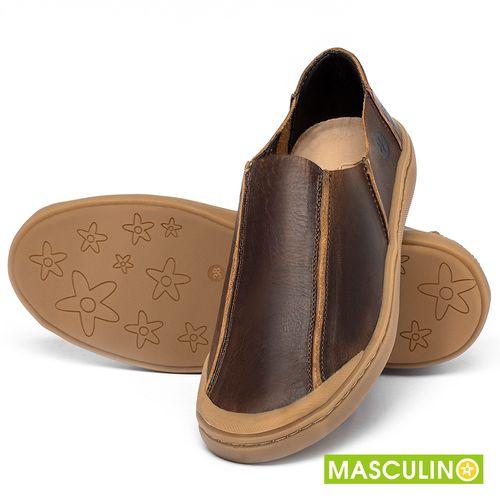 Laranja_Lima_Shoes_Sapatos_Masculinos_Tenis_Masculino_Cano_Baixo_em_Couro_Marrom_-_Codigo_-_141175_2