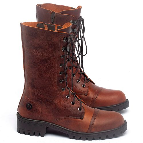 Laranja_Lima_Shoes_Sapatos_Femininos_Bota_Cano_Medio_Salto_de_4_cm_em_Couro_Laranja_-_Codigo_-_137237_1