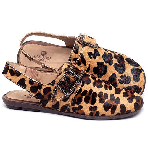Laranja_Lima_Shoes_Sapatos_Femininos_Sapatilha_Bico_Quadrado_em_Couro_Onca_-_Codigo_-_9472_4