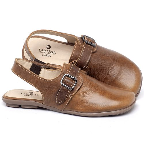 Laranja_Lima_Shoes_Sapatos_Femininos_Sapatilha_Bico_Quadrado_em_Couro_Caramelo_-_Codigo_-_9472_1