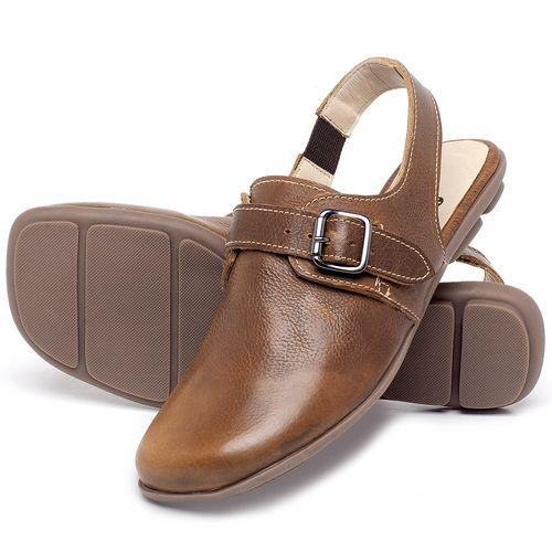 Laranja_Lima_Shoes_Sapatos_Femininos_Sapatilha_Bico_Quadrado_em_Couro_Caramelo_-_Codigo_-_9472_2