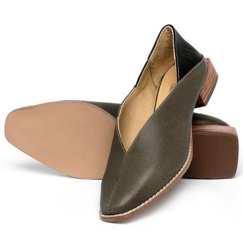 Laranja_Lima_Shoes_Sapatos_Femininos_Sapato_Laranja_Lima_Shoes_em_Couro_Musgo_-_Codigo_-_9499_2