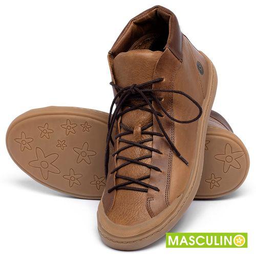 Laranja_Lima_Shoes_Sapatos_Masculinos_Tenis_Masculino_Cano_Alto_em_Couro_Caramelo_-_Codigo_-_141141_2