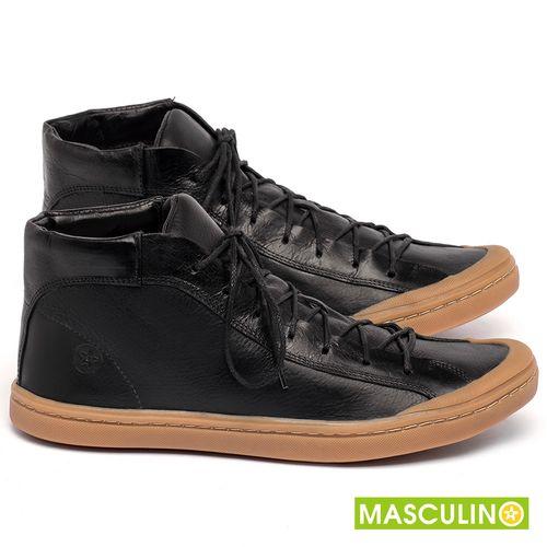 Laranja_Lima_Shoes_Sapatos_Masculinos_Tenis_Masculino_Cano_Alto_em_Couro_Preto_-_Codigo_-_141141_1