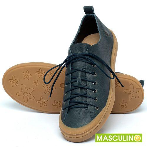 Laranja_Lima_Shoes_Sapatos_Masculinos_Tenis_Masculino_Cano_Baixo_em_Couro_Marinho_-_Codigo_-_141142_2