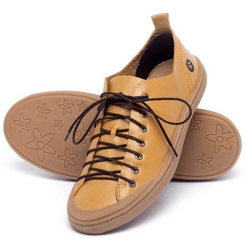 Laranja_Lima_Shoes_Sapatos_Masculinos_Tenis_Masculino_Cano_Baixo_em_Couro_Amarelo_-_Codigo_-_141142_2