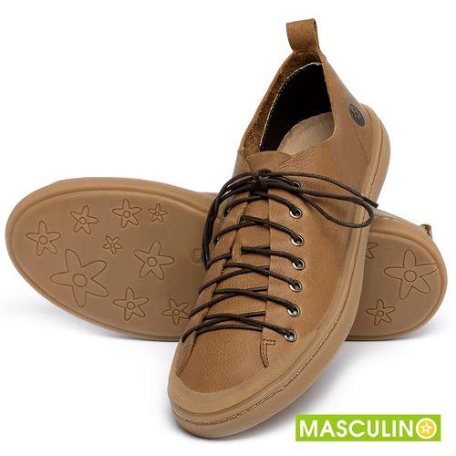 Laranja_Lima_Shoes_Sapatos_Masculinos_Tenis_Masculino_Cano_Baixo_em_Couro_Caramelo_-_Codigo_-_141142_2