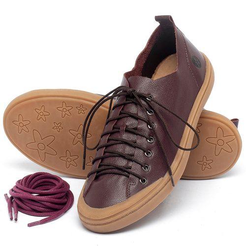 Laranja_Lima_Shoes_Sapatos_Masculinos_Tenis_Masculino_Cano_Baixo_em_Couro_Marrom_-_Codigo_-_141142_2