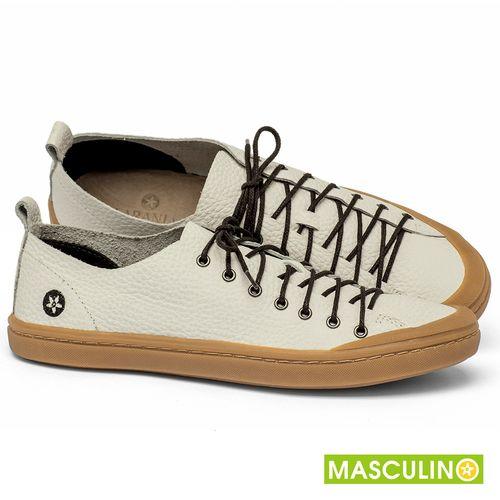 Laranja_Lima_Shoes_Sapatos_Masculinos_Tenis_Masculino_Cano_Baixo_em_Couro_Off-White_-_Codigo_-_141142_1