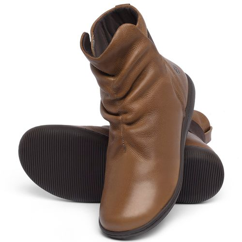 Laranja_Lima_Shoes_Sapatos_Femininos_Flat_Boot_em_Couro_Caramelo_-_Codigo_-_137257_2