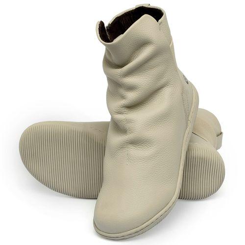 Laranja_Lima_Shoes_Sapatos_Femininos_Flat_Boot_em_Couro_Off-White_-_Codigo_-_137257_2