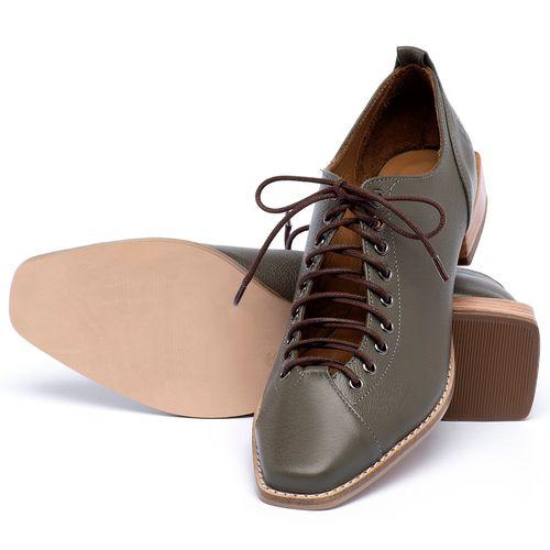 Laranja_Lima_Shoes_Sapatos_Femininos_Sapato_Laranja_Lima_Shoes_em_Couro_Verde_-_Codigo_-_9498_2