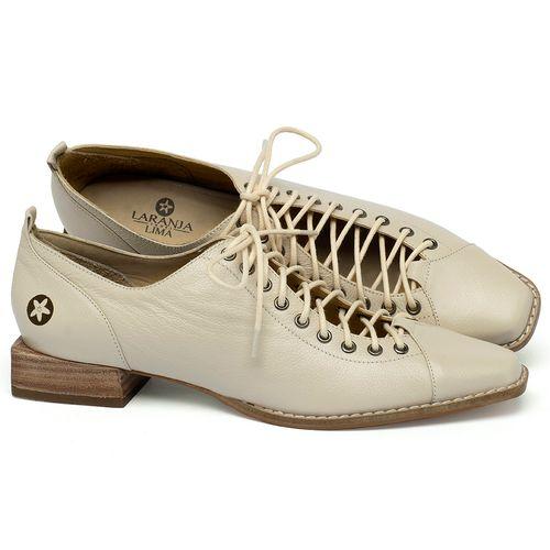 Laranja_Lima_Shoes_Sapatos_Femininos_Sapato_Laranja_Lima_Shoes_em_Couro_Off-White_-_Codigo_-_9498_1