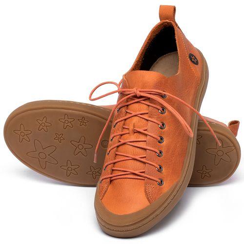 Laranja_Lima_Shoes_Sapatos_Masculinos_Tenis_Masculino_Cano_Baixo_em_Couro_Laranja_-_Codigo_-_141142_2