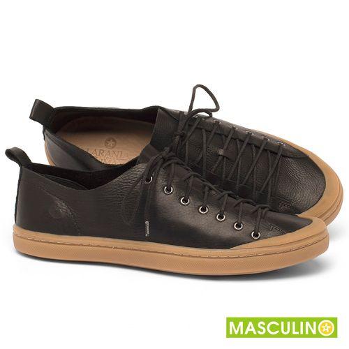Laranja_Lima_Shoes_Sapatos_Masculinos_Tenis_Masculino_Cano_Baixo_em_Couro_Preto_-_Codigo_-_141142_1