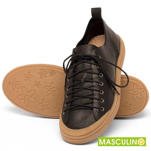 Laranja_Lima_Shoes_Sapatos_Masculinos_Tenis_Masculino_Cano_Baixo_em_Couro_Preto_-_Codigo_-_141142_2