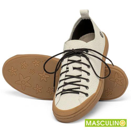 Laranja_Lima_Shoes_Sapatos_Masculinos_Tenis_Masculino_Cano_Baixo_em_Couro_Off-White_-_Codigo_-_141142_2