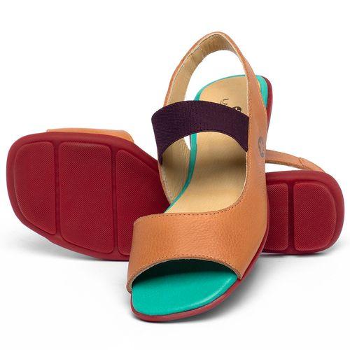 Laranja_Lima_Shoes_Sapatos_Femininos_Sapatilha_Peep_Toe_em_Couro_Colorido_-_Codigo_-_9501_2