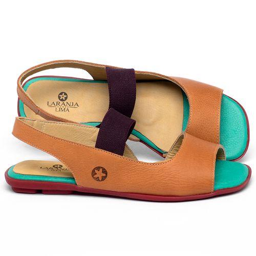 Laranja_Lima_Shoes_Sapatos_Femininos_Sapatilha_Peep_Toe_em_Couro_Colorido_-_Codigo_-_9501_1
