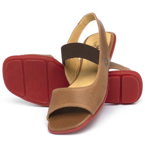 Laranja_Lima_Shoes_Sapatos_Femininos_Sapatilha_Peep_Toe_em_Couro_Caramelo_-_Codigo_-_9501_2