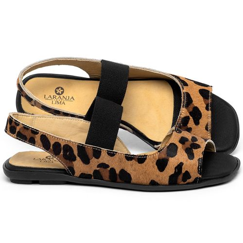 Laranja_Lima_Shoes_Sapatos_Femininos_Sapatilha_Peep_Toe_em_Couro_Animal_Print_-_Codigo_-_9501_1