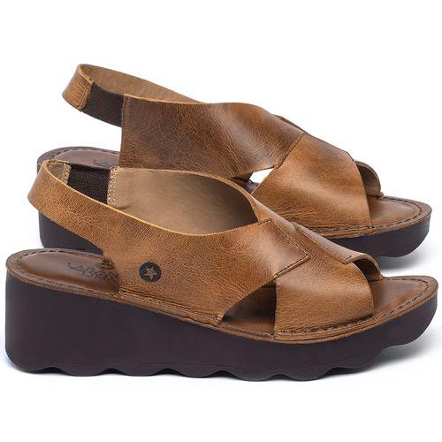 Laranja_Lima_Shoes_Sapatos_Femininos_Anabela_Tratorada_Salto_de_5_cm_em_Couro_Caramelo_-_Codigo_-_141166_1