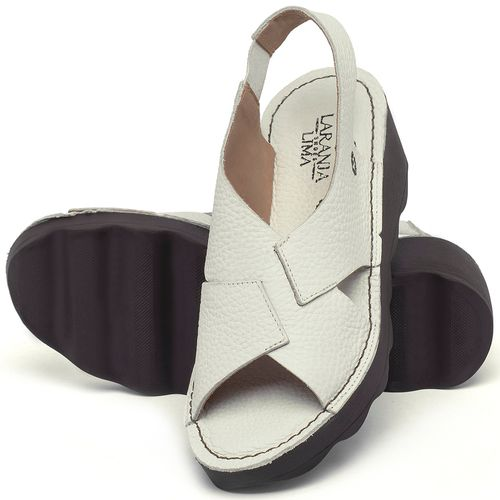 Laranja_Lima_Shoes_Sapatos_Femininos_Anabela_Tratorada_Salto_de_5_cm_em_Couro_Off-White_-_Codigo_-_141166_2