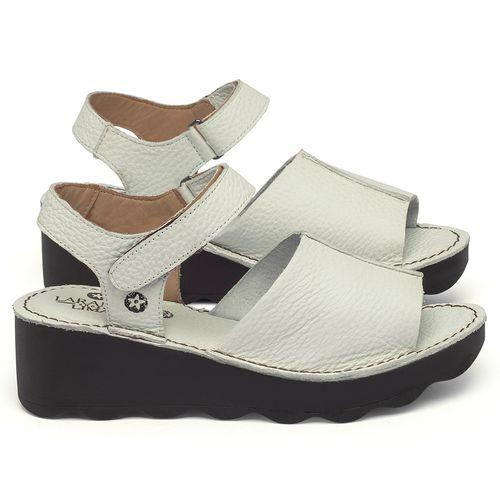 Laranja_Lima_Shoes_Sapatos_Femininos_Anabela_Tratorada_Salto_de_5_cm_em_Couro_Off-White_-_Codigo_-_141168_1