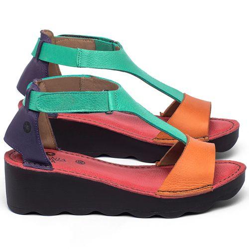 Laranja_Lima_Shoes_Sapatos_Femininos_Anabela_Tratorada_Salto_de_5_cm_em_Couro_Colorido_-_Codigo_-_141173_1