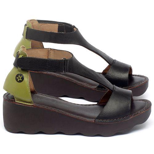 Laranja_Lima_Shoes_Sapatos_Femininos_Anabela_Tratorada_Salto_de_5_cm_em_Couro_Preto_-_Codigo_-_141173_1