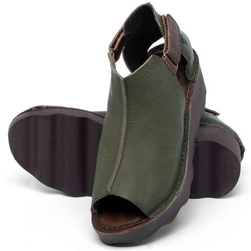 Laranja_Lima_Shoes_Sapatos_Femininos_Anabela_Tratorada_Salto_de_Frente_2_cm_e_Atras_5_cm_em_Couro_Verde_-_Codigo_-_141007_2
