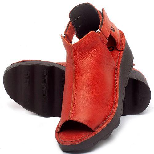 Laranja_Lima_Shoes_Sapatos_Femininos_Anabela_Tratorada_Salto_de_Frente_2_cm_e_Atras_5_cm_em_Couro_Vermelho_-_Codigo_-_141007_2
