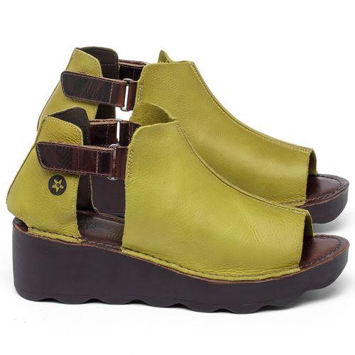 Laranja_Lima_Shoes_Sapatos_Femininos_Anabela_Tratorada_Salto_de_Frente_2_cm_e_Atras_5_cm_em_Couro_Amarelo_-_Codigo_-_141007_1